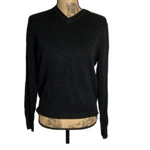 Dockers Black Vneck warm sweater